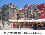 porto  portugal   june 5  2015  ... | Shutterstock . vector #1013813110