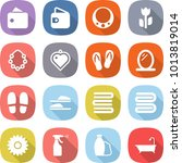 flat vector icon set   wallet... | Shutterstock .eps vector #1013819014