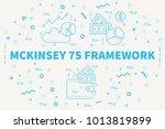 conceptual business... | Shutterstock . vector #1013819899