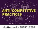 conceptual business... | Shutterstock . vector #1013819920