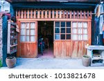 characteristic minnan houses in ... | Shutterstock . vector #1013821678