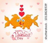 valentines day  14 february  | Shutterstock .eps vector #1013828539