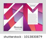 abstract vector layout... | Shutterstock .eps vector #1013830879