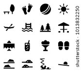 origami style icon set   park... | Shutterstock .eps vector #1013832250