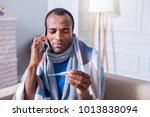 family doctor. nice unhappy... | Shutterstock . vector #1013838094