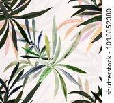 seamless illustration of a... | Shutterstock . vector #1013852380