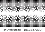 fading greyscale border pixel... | Shutterstock .eps vector #1013857330