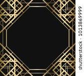 vintage retro style invitation  ... | Shutterstock .eps vector #1013869999
