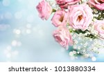 spring background. daisy gerbera | Shutterstock . vector #1013880334