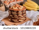 A Stack Of Chocolate Pancakes...