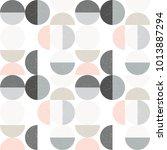 modern vector abstract seamless ... | Shutterstock .eps vector #1013887294