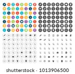 file folder icons | Shutterstock .eps vector #1013906500