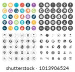 map icons set | Shutterstock .eps vector #1013906524