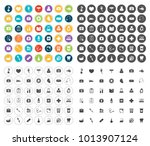 medical icons set | Shutterstock .eps vector #1013907124