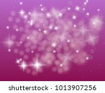 abstract sparkling stars... | Shutterstock .eps vector #1013907256