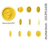gold rotate etherium frames