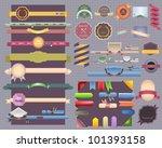 vintage style  ribbon... | Shutterstock .eps vector #101393158