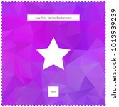 star vector violet polygonal...