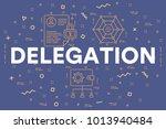 conceptual business... | Shutterstock . vector #1013940484