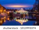 tumski bridge at night in... | Shutterstock . vector #1013993374