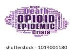 opioid crisis word cloud... | Shutterstock .eps vector #1014001180