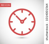clock vector icon. time is a... | Shutterstock .eps vector #1014001564