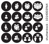 people icons set | Shutterstock .eps vector #1014003964