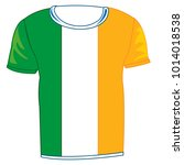 t shirt flag to ireland on...   Shutterstock .eps vector #1014018538