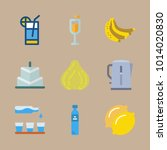 icon set about gastronomy with... | Shutterstock .eps vector #1014020830