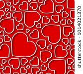 amazing seamless pattern ... | Shutterstock .eps vector #1014021370