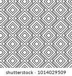 geometric line seamless pattern.... | Shutterstock .eps vector #1014029509