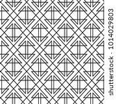 geometric line seamless pattern.... | Shutterstock .eps vector #1014029803