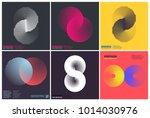 simplicity geometric design set ... | Shutterstock .eps vector #1014030976
