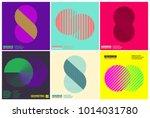simplicity geometric design set ... | Shutterstock .eps vector #1014031780
