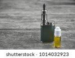 e   cigarette for vaping  ... | Shutterstock . vector #1014032923