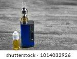 e   cigarette for vaping  ... | Shutterstock . vector #1014032926
