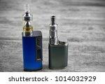 e   cigarette for vaping  ... | Shutterstock . vector #1014032929