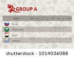 football world championship ... | Shutterstock .eps vector #1014036088