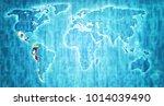pacific alliance member... | Shutterstock . vector #1014039490