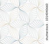 linear vector pattern ... | Shutterstock .eps vector #1014040660