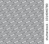 linear vector pattern repeating ... | Shutterstock .eps vector #1014040780