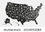 united states of america map... | Shutterstock .eps vector #1014052084
