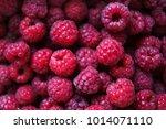 Lots Of Red Ripe Raspberries As ...
