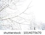 russian nature  winter forest... | Shutterstock . vector #1014075670