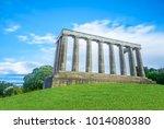 calton hill image | Shutterstock . vector #1014080380