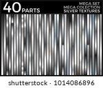 vector set of silver gradients  ... | Shutterstock .eps vector #1014086896