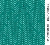 creative vector seamless wavy... | Shutterstock .eps vector #1014090589