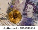 Bitcoin Over British Pound Notes