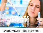 stem cell research for the... | Shutterstock . vector #1014105280
