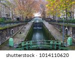 Autumn By Saint Martin Canal In ...